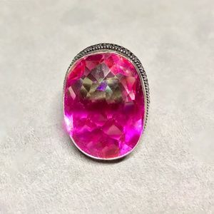 Bi-Color Tourmaline Ring Size 9